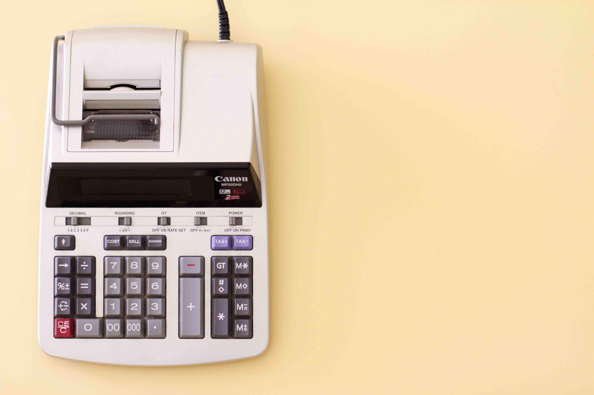 budget tax calculator